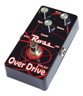 Pedal De Efectos Para Guitarra Overdrive Tone, Gain Y Level