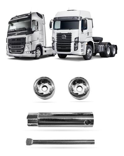 Trava Antifurto De Bateria Caminhão Constellation Volvo M-8