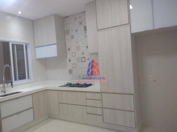 Casa Com 3 Dormitórios À Venda, 330 M²- Condomínio Ipês Amarelos - Vila Cordenonsi - Americana/sp - Ca0882