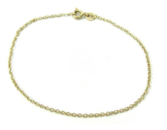 Joianete P9015-60256 Pulseira De Ouros Elos Ovalados