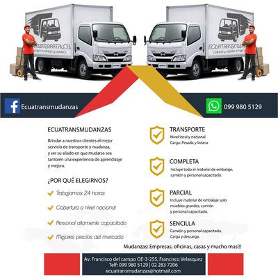Transporte Y Mudanzas Local Y Nacional Garantizado
