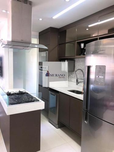 Apartamento Para Venda Em São Paulo, Ipiranga, 2 Dormitórios, 2 Suítes, 3 Banheiros, 2 Vagas - Ipi68cisp_1-1754331