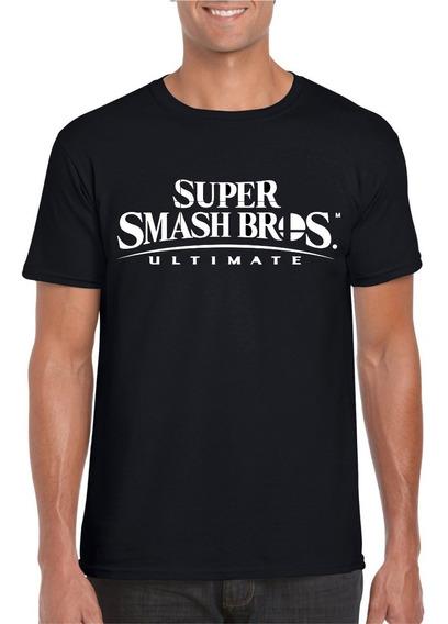 Playera Y Gorra Smash Bros Ultimate