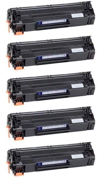 Kit 5x Cartucho Toner Compatível Hp Ce285a Cb435a Cb436a 85a