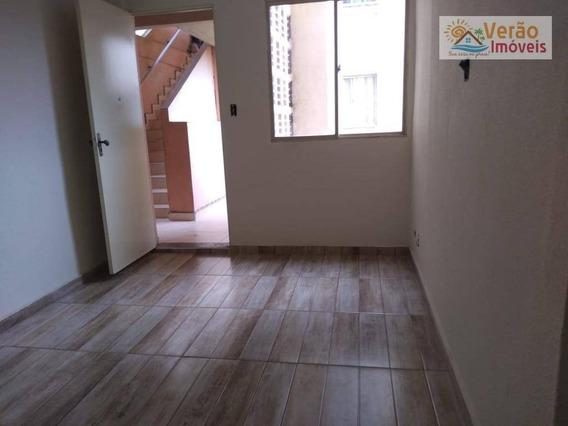 Apartamento Com 2 Dormitórios Para Alugar, 50 M² Por R$ 700,00/mês - Conjunto Guapiranga (cdhu) - Itanhaém/sp - Ap0094