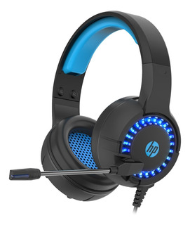 Auriculares Hp Dhe-8011 Gamer Y Oficina Con Luces Y Mic