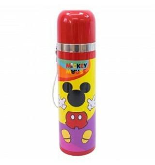 Imagem 1 de 5 de  Garrafa De Agua  Disney Mickey 90 Anos Vermelha
