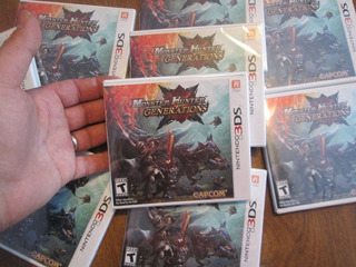 Monster Hunter Generaciones Nintendo 3ds Nuevo Sellado De F