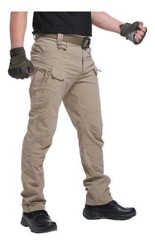 Imagen 1 de 9 de Pantalones Tácticos Militares Impermeables, Ix7, Ix9