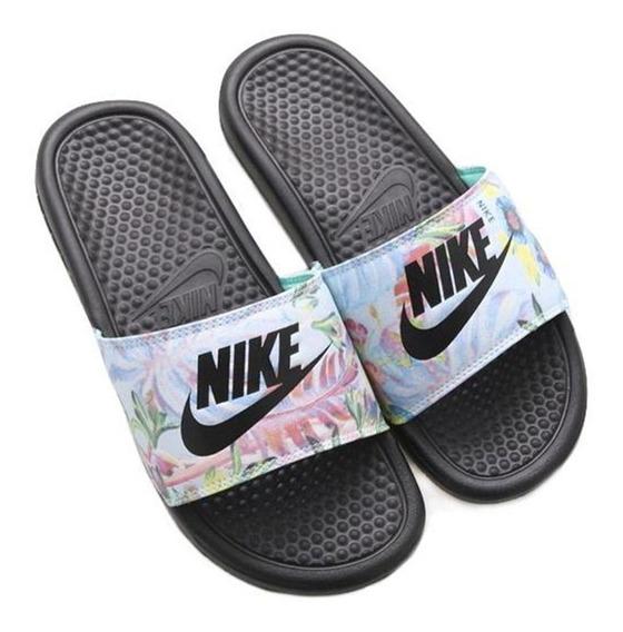 Nike Benassi Jdi Print Ojotas Mujer Originales Cod 0211