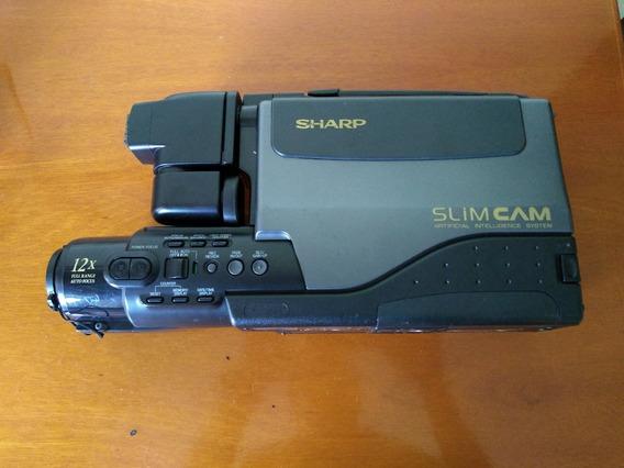 Filmadora Sharp Slim Cam Vl-l50 B