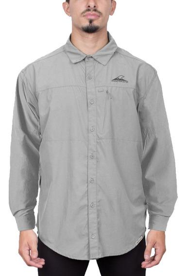 Camisa Hombre Terranova M/l Montagne S/rapido Trekking Ahora 12 Y Ahora 18