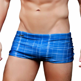Sunga Boxer Chess Grigo Collection