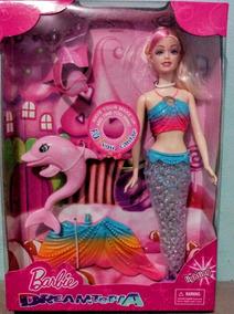 Boneca Barbie Dreamtopia Sereia Das Cores Promoção