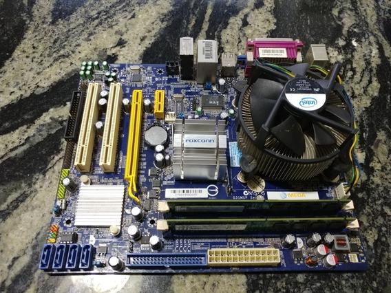 Kit Lga775 Pentium E2160 + Foxconn G31mxp + 4gb Ddr2800