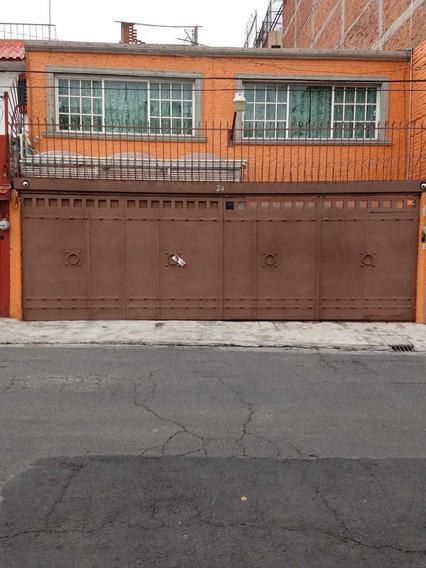 Casa En Venta En Colonia Prados Churubusco