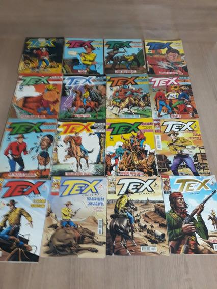 Lote Com 16 Revistas Tex Coleção (item 94)