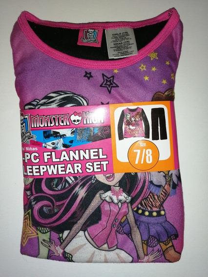 Pijama Para Niña Importada De Monster High