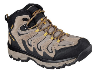 Botas Skechers Morson Gealson Hombre Trekking Impermeables