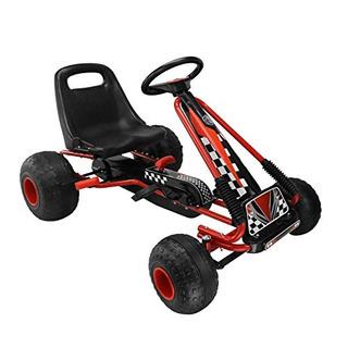 Juego de 4 Mini Go Karts Modelo coches carreras pistas jugando Go-kart niños carros de carreras