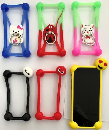 Protector Silicona Universal Diseños Samsung Xiaomi Huawei ®