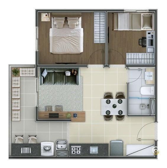 Apartamento - Vila Carmosina - Ref: 3817 - V-3817