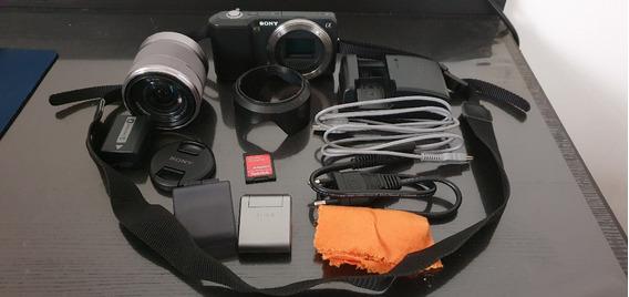 Câmera Semi-profissional Sony Alpha Nex-3