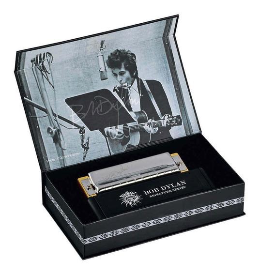 Armonica Hohner Bob Dylan Signature Set Edición Limitada