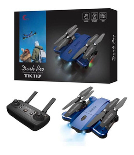Drone Dark Pro Tk-117 Alas Retractil Con Wifi