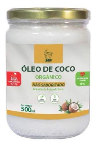 Imagem 1 de 4 de Oleo De Coco 500ml Sem Sabor Macrophytus