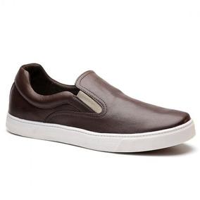 Tênis Iate Masculino Keep Shoes Cor Café Nap