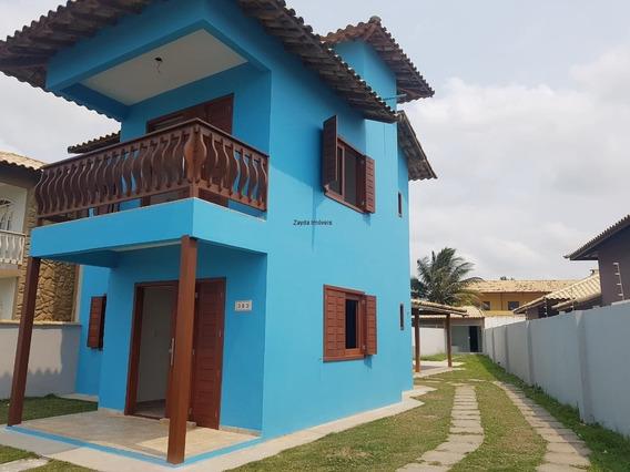 Casa Com 03 Quartos À Beira Mar Na Prainha/barra De São João. - Ca00088 - 32361631