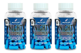 3x Night Abdomen 60 Tabs - Body Action