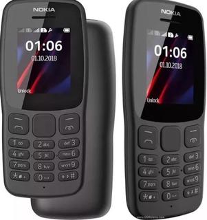 Celular Nokia 106 Simples Dual Chip Original N Pega Vivo