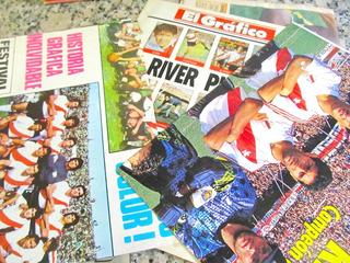 Lote De Posters Y Fotos De River Para Fanaticos