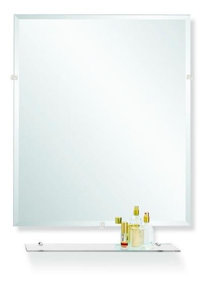 Espejo Ole Biselado Reflejar Con Repisa 50x60 Envío Gratis