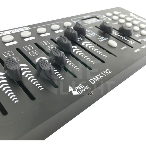 Kit 2 Mesa Controladora Dmx 512