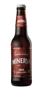 Cerveza Minerva Viena Botella De 355 Ml