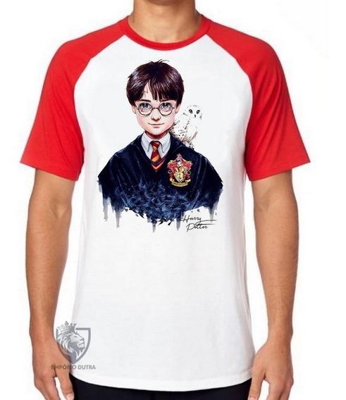 Camiseta Blusa Harry Potter Criança Bruxo Magico Jovem