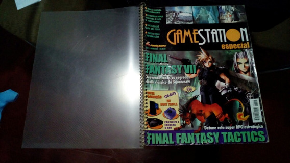 Revista Gamestation Especial Nº8 - Final Fantasy 7