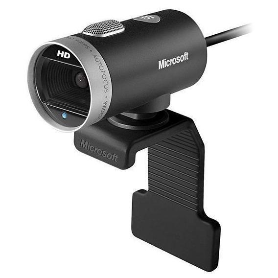 Webcam Microsoft Life Cam 6ch-00001 720p Hd Com Microfone