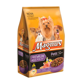 Ração Magnus Premium Petit Para Cães Adultos - 10kg