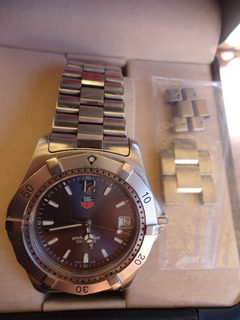 Tag Heuer Profesional 200 Metros Gris Acero Inoxidable