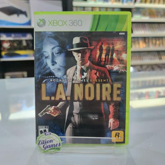 L.a. Noire Xbox 360 Completo