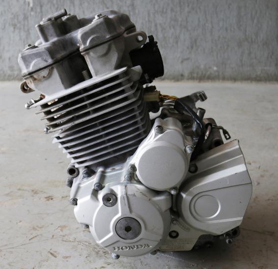 Motor Parcial Honda Cb 300 Gasolina 09 10 2011 Ler Descrição