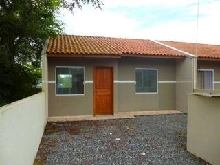 Oportunidade!! Casa Nova R$ 06 Mil De Entrada Itapoa Sc