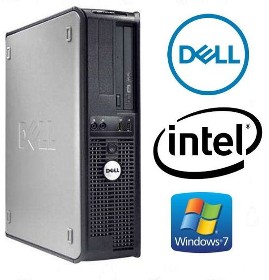 Lote 3 Cpu Dell 320 Dual Core Memoria 4gb Ddr2 Hd 80gb Win10