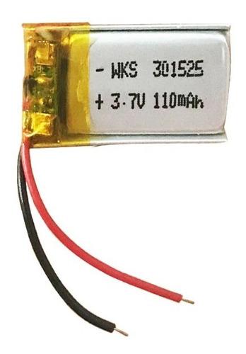 Imagen 1 de 4 de Bateria 3.7v Repuesto Electronico Pila Litio Lipo Eworrc