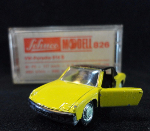 Schuco Nro. 826. Vw-porsche 914 S. Impecable. 10522