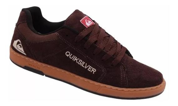 Tênis Quiksilver Promoção Skate/surf Casual Conforto Flex